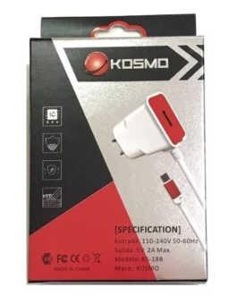 Cargador USB Kosmo 2a